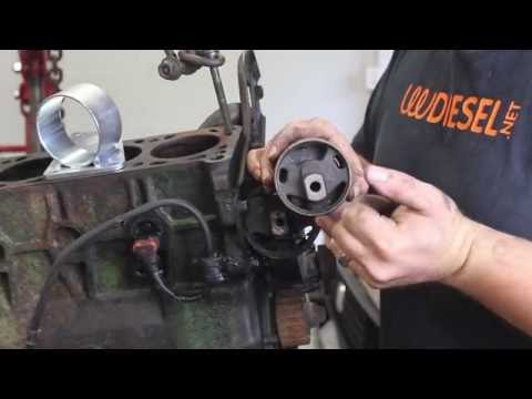 S&P Automotive TDI Caddy swap Part 1: Engine Prep and mounts