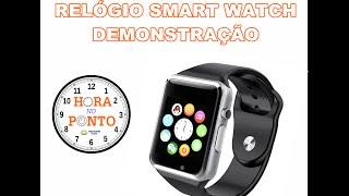 Relógio Inteligente Smart Watch - Hora no Ponto