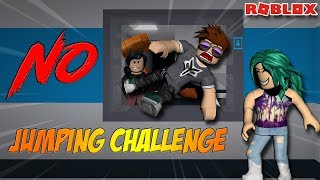 NO JUMPING ALLOWED CHALLENGE -- ROBLOX Flee the Facility
