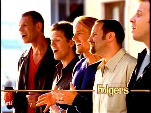 Rockapella FOLGERS Commercial  :45 & :30