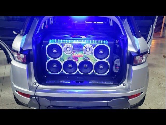 Land Rover Evoque tocando com muita qualidade by Rodão Audio Evolution