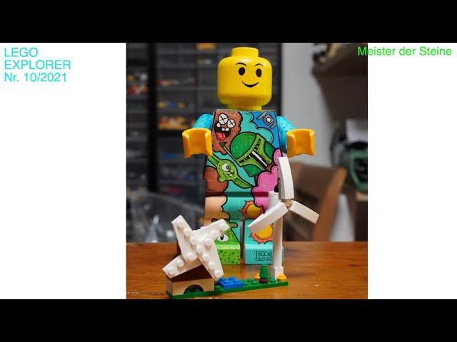 Meister der Steine, Lego, Explorer, Energie-Quellen, 2021, Nr. 10/2021