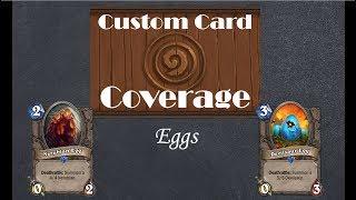 Hearthstone Custom Card Coverage: Eggs