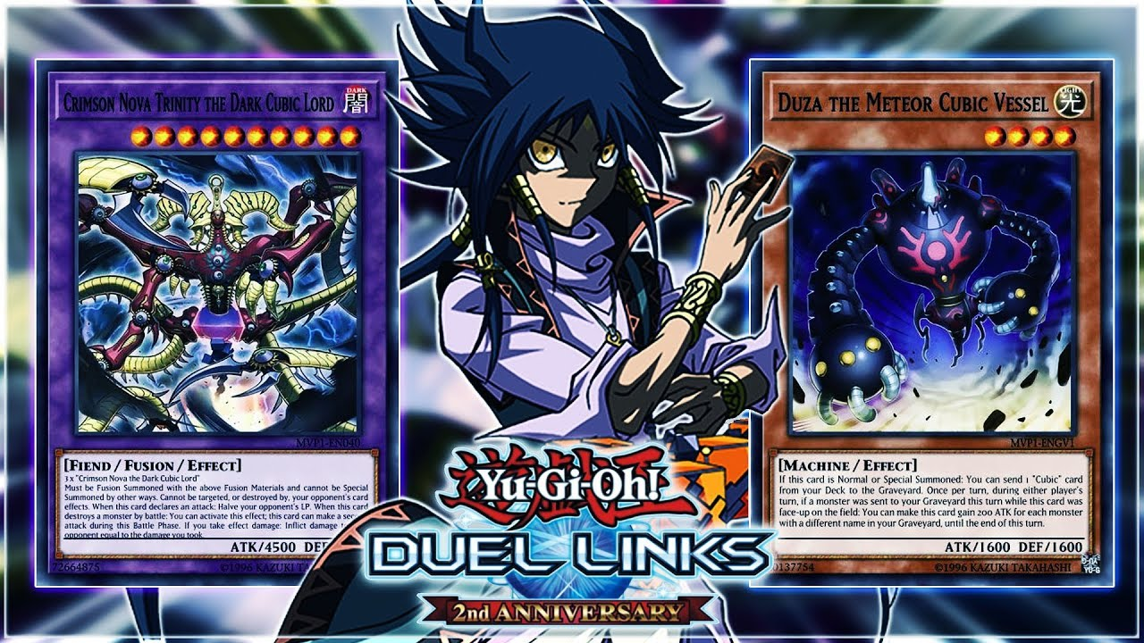 Yu-Gi-Oh! Duel Links | New CUBIC Cards in Dark Side of Dimensions World!  Aigami's Deck!
