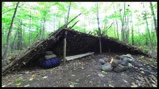 LEAN TO FRONT SIDE EXPANSION - September Trip OVERNIGHT CAMP