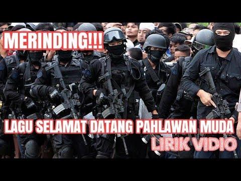 SELAMAT DATANG PAHLAWAN MUDAH lirik vidio - LAGU TNI POLRI #pendidikan #bintara #tni #polri #polisi