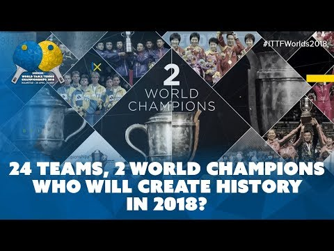 Who Will Create History at the 2018 World Table Tennis Championships