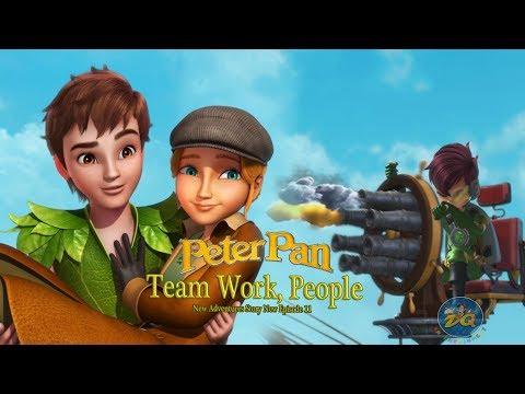 Peter Pan Season 2 Episode 13 Team Work, People | Cartoon For Kids |  Video | Online Mp3