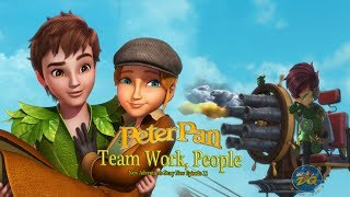Peter Pan Season 2 Episode 13 Team Work, People | Cartoon |  Video | Online