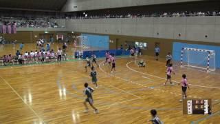 5日 ハンドボール女子 国体記念体育館 Dコート 昭和学院×福井商業 1回戦 2