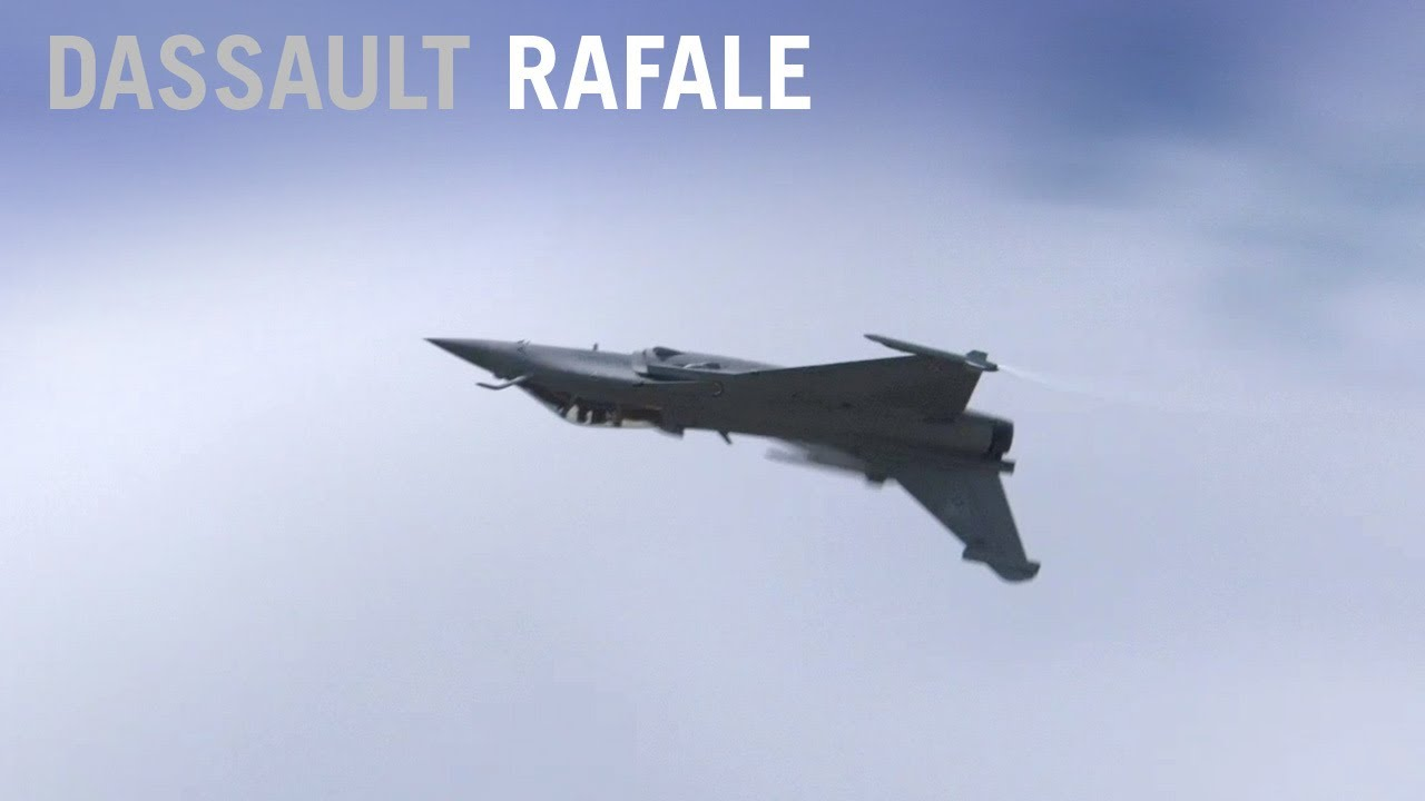Dassault Rafale Fighter Flying Display at Paris Air Show 2019 - AINtv  Express