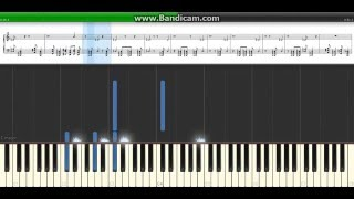 """The Truth Reigns"" Roman Reigns Theme on Piano - Synthesia"