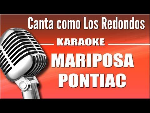 Los Redondos - Mariposa Pontiac  - Karaoke Vision