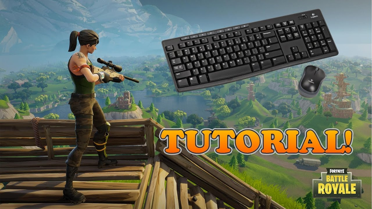 Fortnite ps4 mouse and keyboard controls | Fortnite Controls for PC