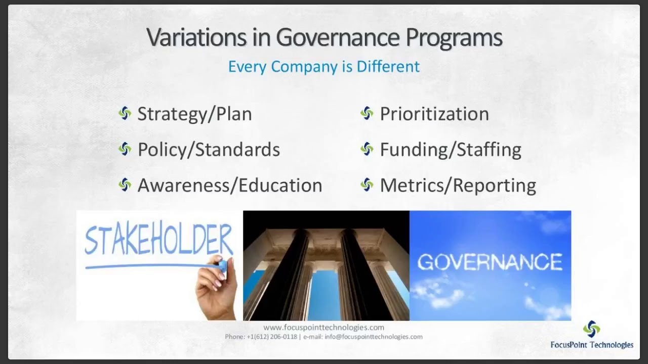 Security Program Governance – More Important Than You Think!