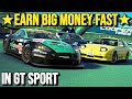 How To Earn BIG MONEY FAST On GT SPORT!! (1.30 Update)