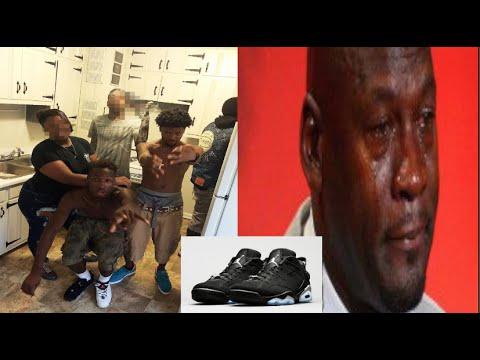 Ghetto GA~ children of the cornbread rob teen at gunpoint then post Jordans on instagram