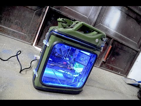DIY JERRY CAN Computer CASE !?