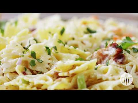 How to Make Ranch, Bacon, and Parmesan Pasta Salad | Lunch Recipes | Allrecipes.com