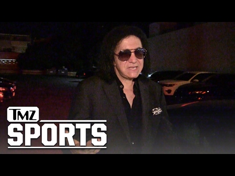 RUSSELL WESTBROOK MAD LOVE FROM GENE SIMMONS... Over Pre-Game KISS Swag | TMZ Sports