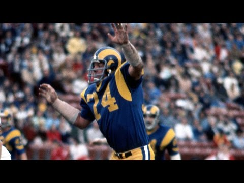#27: Merlin Olsen | The Top 100: NFL's Greatest Players (2010) | NFL Films