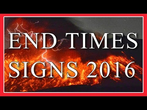 Worldwide End Times Signs FEB to MARCH 2016 - Strange Weather  PART 5
