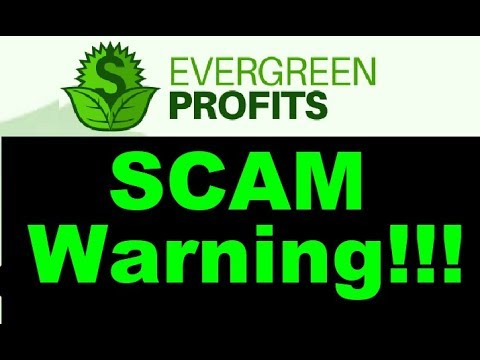 EverGreen Profits Review - DONT Join this SCAM! (New Warning)