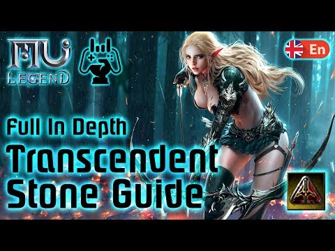 Mu Legend Transcendent Stone Guide! 🔺 Amplifying, Crafting, Cleaning, Resetting, Assessing, Applying