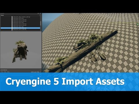 Cryengine 5 Import Game Assets