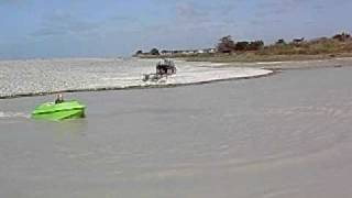 Wee Green Jet Boat