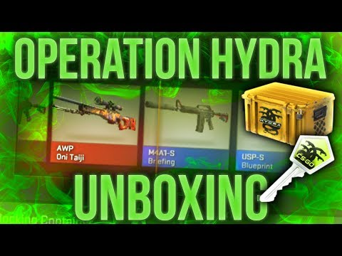 OPERATION HYDRA UNBOXING + NEW OPERATION
