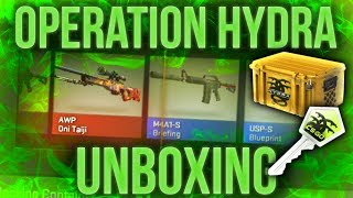 OPERATION HYDRA UNBOXING + NEW OPERATION streaming