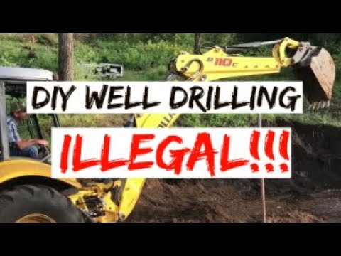 #211 - It Is 100% ILLEGAL To Drill Your Own Well!!!