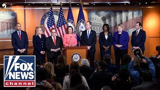 House impeachment managers hold a press conference