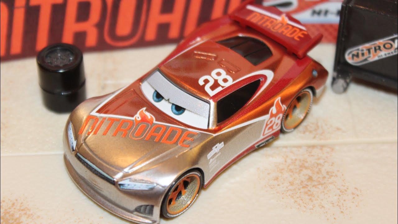 Mattel Disney Cars 3 Silver Tim Treadless Next Gen Nitroade Piston Cup Racer Silver Collection Youtube
