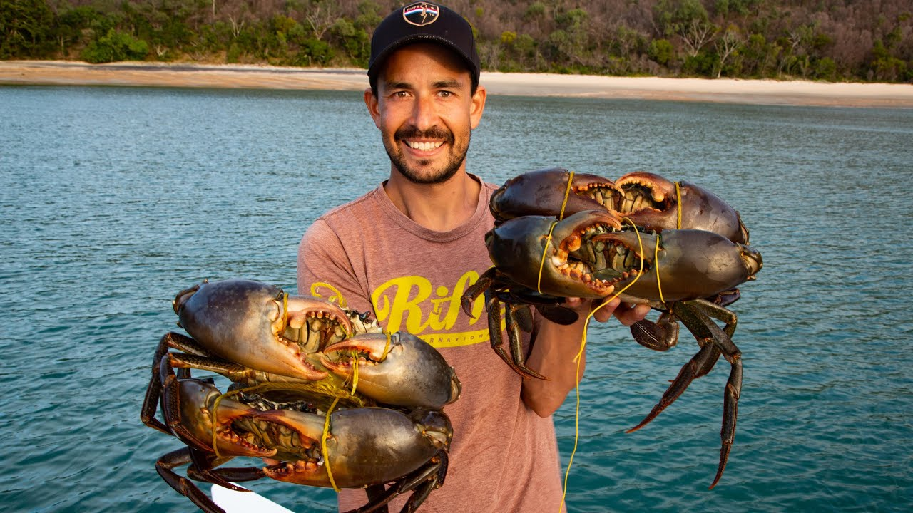 Are These the Biggest Mudcrabs on YouTube? Catch & Cook Crab Ravioli (Sailing Popao) Ep.44