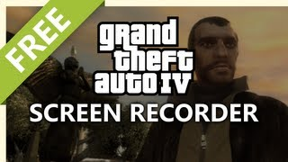 Screen Record Grand Theft Auto IV