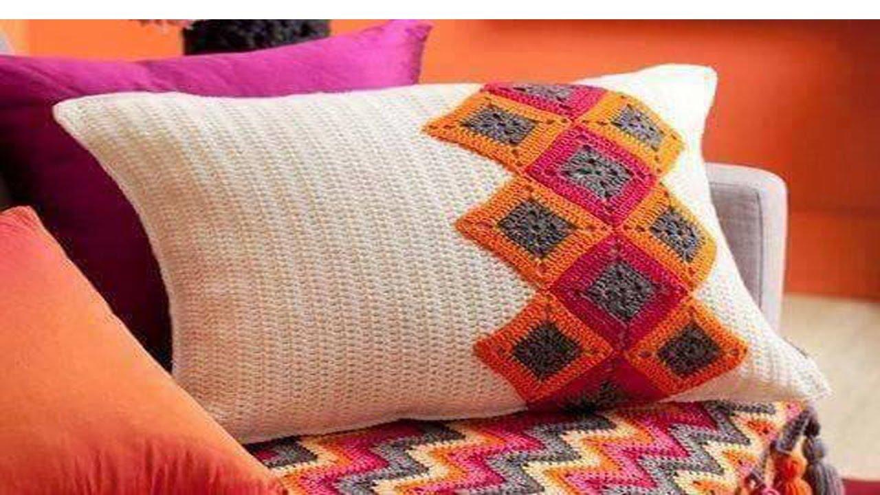 Tejidos crochet y dos agujas decoracion hogar youtube for Tejidos decoracion hogar