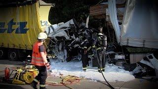 Schwerer Unfall auf der A2 - und wieder keine Rettungsgasse