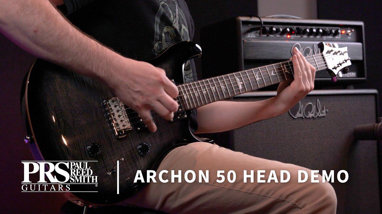 The Archon 50 Head | Demo by Tom Walls | PRS Guitars
