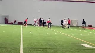 Watch Ohio State Football's Defense Go Through Spring Practice