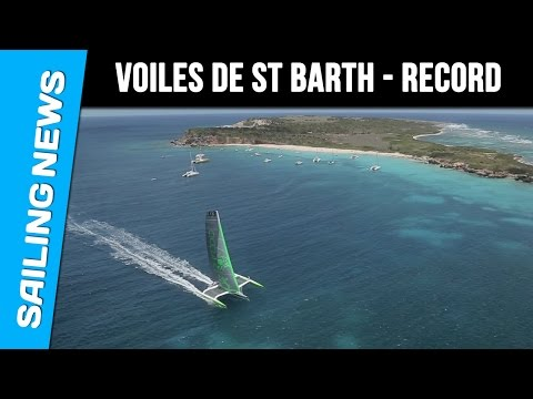Voiles de St Barth 2015 - The speed record