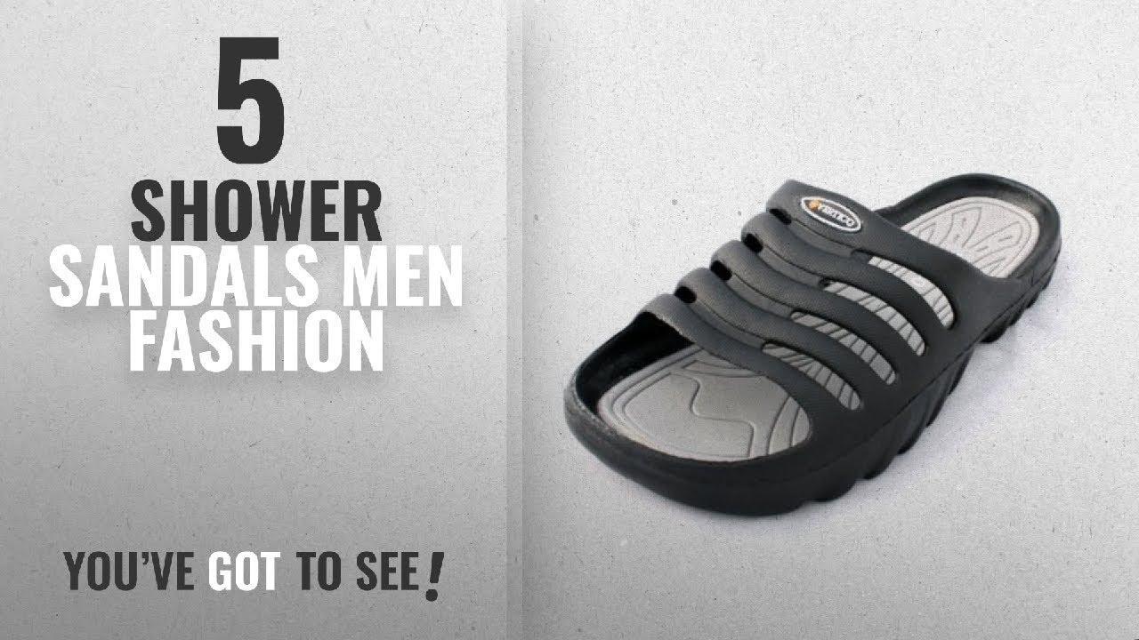 47ef520b5577 Top 10 Shower Sandals  Men Fashion Winter 2018    Vertico Men s ...