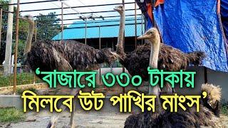 'বাজারে ৩৩০ টাকায় মিলবে উট পাখির মাংস'   bdnews24.com