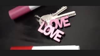 LOVE - LOVE - LOVE con PINTOR sobre MDF