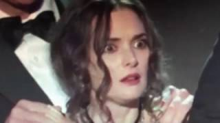 Winona Ryder on drugs during Stranger Things awards speech