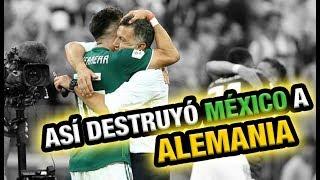 Así es cómo Osorio y la Selección Mexicana destruyeron a Alemania - Análisis México vs Alemania 1-0