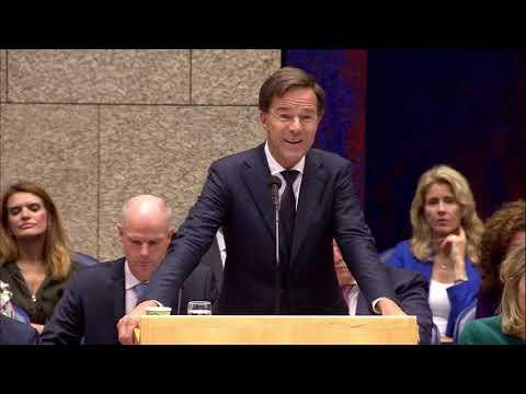 Mark Rutte eerste termijn Algemene Politieke Beschouwingen 21-9-2018