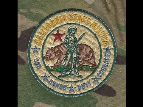 Insider's Look at the California State Militia Episode 2- What's needed to join Our Family