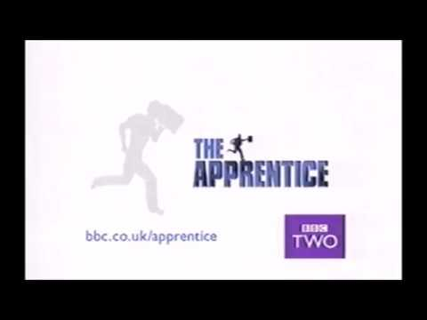 BBC2 continuity (The Apprentice 1st Series trailer/advert, 2004)
